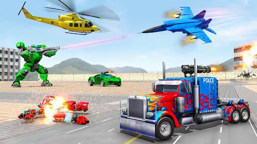 بازی اندروید ماشین ربات ترانسفورماتور - بازی ترانسفورماتور - Robot Car Transformation: 3D Transformation Games