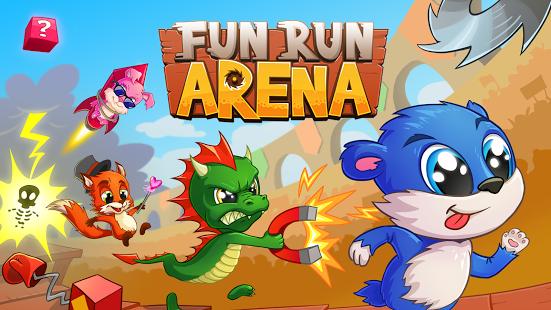 بازی اندروید دویدن سرگرم کننده - آرنا - Fun Run Arena Multiplayer Race