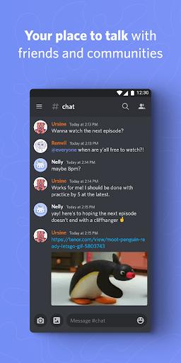 نرم افزار اندروید دیسکورد - گفتگو و چت - Discord - Talk, Video Chat & Hangout with Friends