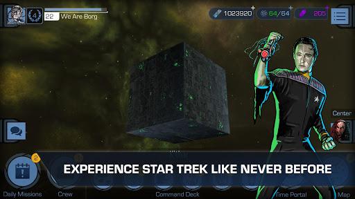 بازی اندروید حرکت ستاره - جدول زمانی - Star Trek™ Timelines