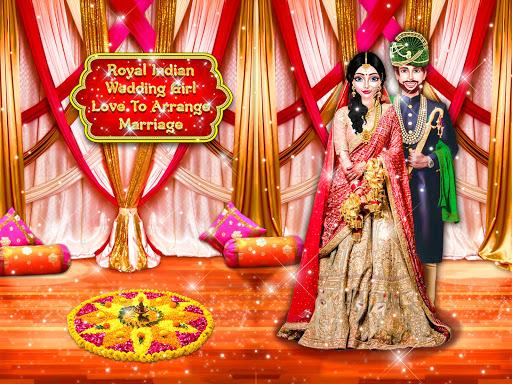 نرم افزار اندروید دختر هندی عروسی سلطنتی دوست دارد - Royal Indian Wedding Girl Love to Arrange Marriage