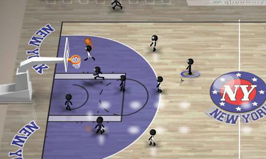 بازی اندروید بسکتبال استیکمن - Stickman Basketball