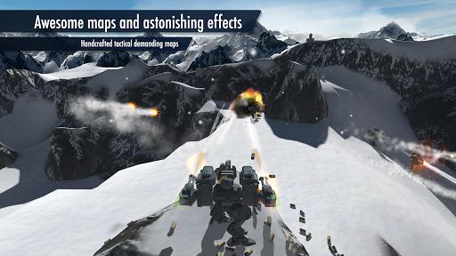 بازی اندروید جنگ روبات ها - Mech Battle - Robots warfare