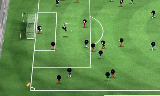 بازی اندروید فوتبال استیکمن 2016 - Stickman Soccer 2016