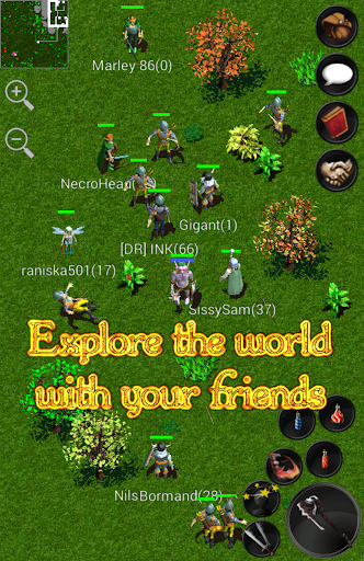 بازی اندروید داستان های آنلاین فراموش شده - Forgotten Tales MMORPG Online
