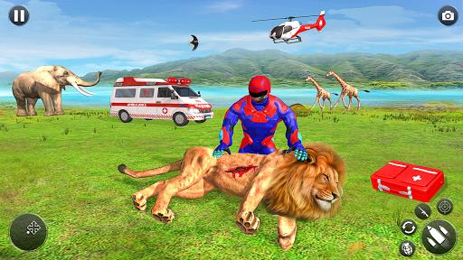 بازی اندروید سوپر قهرمان سرعت نور - ماموریت نجات قهرمان ربات - Light Superhero Speed Hero Robot Rescue Mission