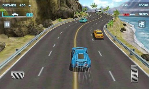 بازی اندروید مسابقه رانندگی توربو - Turbo Driving Racing 3D
