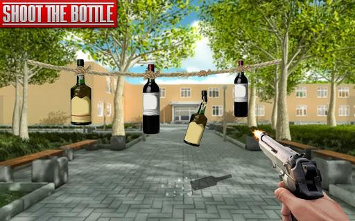 بازی اندروید تیرانداز واقعی بطری - Real Bottle Shooting Free Games