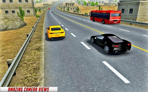 بازی اندروید مسابقه مدرن ترافیک ماشین - Modren Car Traffic Race
