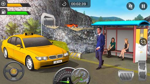 بازی اندروید رانندگی تاکسی جدید سه بعدی - بازی تاکسی 2020 - Modern Taxi Drive Parking 3D Game: Taxi Games 2020