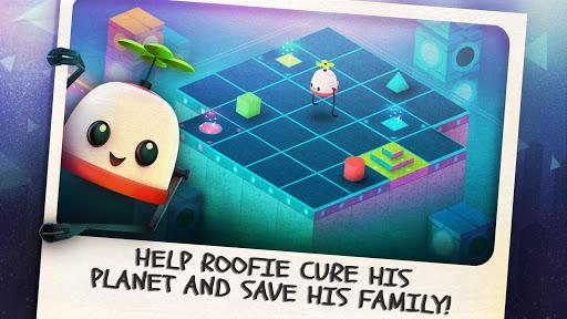 بازی اندروید بام - Roofbot