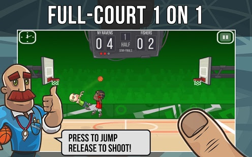 بازی اندروید جدال بسکتبال - Basketball Battle
