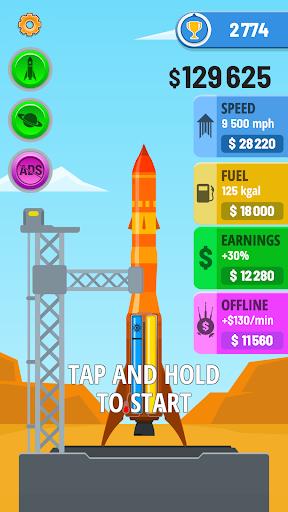 بازی اندروید موشک آسمان - Rocket Sky!