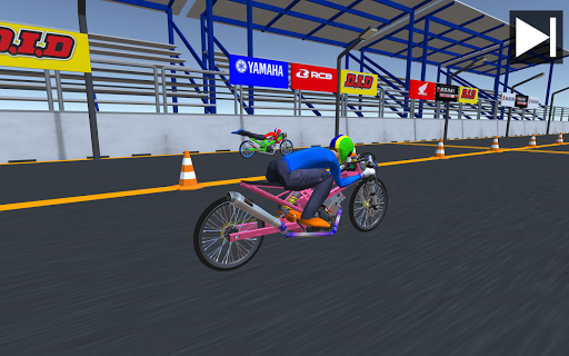 بازی اندروید سلطان درگ - مسابقه 201 متری تایلند - Drag King - 201m thailand racing game