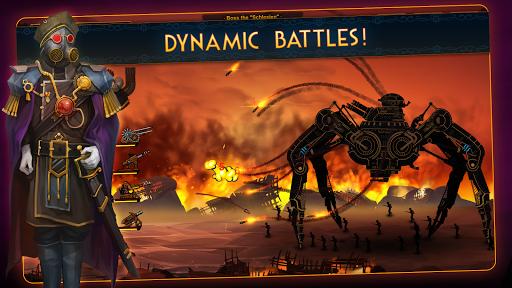 بازی اندروید برج لیزری - بازی دفاعی برج - Steampunk Tower 2: The One Tower Defense Game