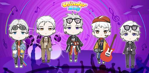 بازی اندروید ولیندر پسر - شخصیت شخصی خود را بساز - Vlinder Boy: Dress Up Your Own Character Avatar