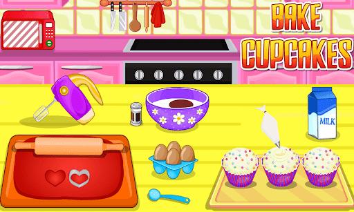 بازی اندروید کاپ کیک بپزید - Bake Cupcakes