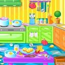 تمیز کردن اتاق های خانه