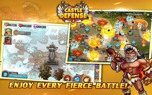 بازی اندروید محافظت از قلعه 2 - Castle Defense 2