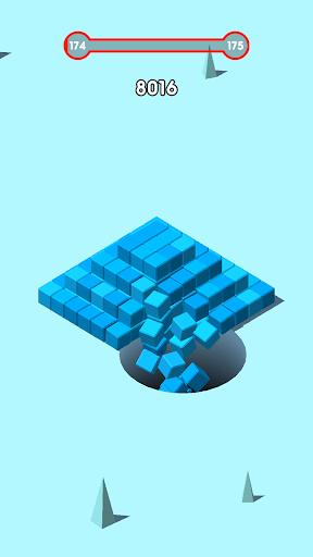 بازی اندروید استاد ویران کردن - بلوک مکعب - Raze Master: Hole Cube and Blocks Game