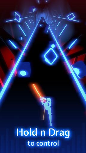 بازی اندروید تیغه رقص - Beat Blade: Dash Dance🎵⚔️