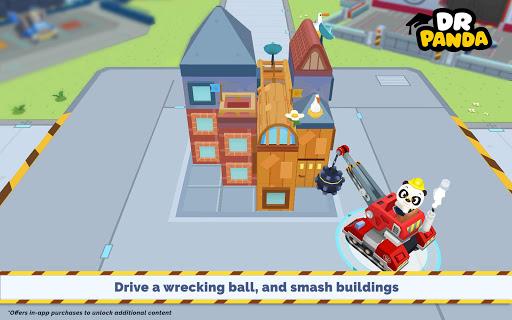 بازی اندروید کامیون های پاندا - Dr. Panda Trucks