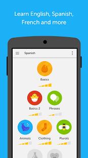 نرم افزار اندروید دولینگو - یادگیری رایگان زبان - Duolingo: Learn Languages Free