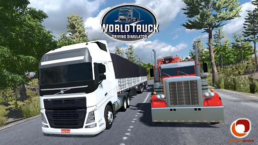 بازی اندروید راندن کامیون - World Truck Driving Simulator