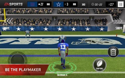 بازی اندروید فوتبال آمریکایی - Madden NFL Mobile