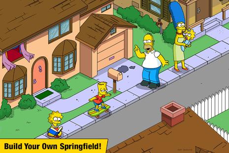 بازی اندروید سیمپسون ها - The Simpsons™:  Tapped Out