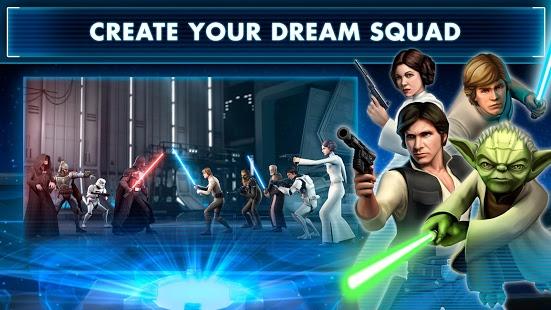 بازی اندروید جنگ ستارگان - کهکشان قهرمانان - Star Wars™: Galaxy of Heroes
