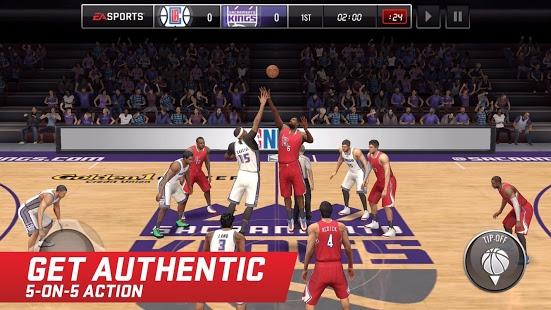 بازی اندروید بسکتبال ان بی ای - NBA LIVE Mobile