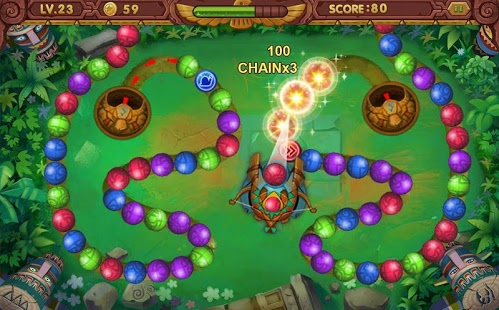 بازی اندروید تیله افسانه ای 2 - Marble Legend 2