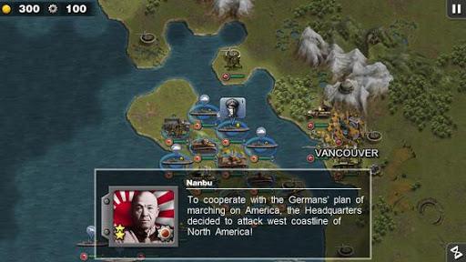 بازی اندروید افتخار فرمانده - Glory of Generals :Pacific HD