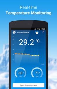 نرم افزار اندروید خنک کننده پردازنده - CPU Cooler Master-Phone Cooler