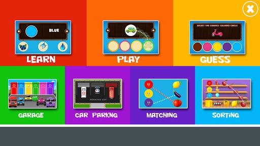 بازی اندروید یادگیری رنگ ها برای کودکان - Learning Colors For Children