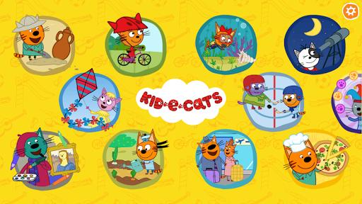 بازی اندروید بچه گربه ها - بازی های آموزشی - Kid-E-Cats. Educational Games