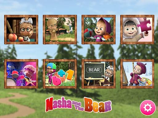 بازی اندروید بازی آموزشی ماشا و خرس - Masha and the Bear. Educational Games