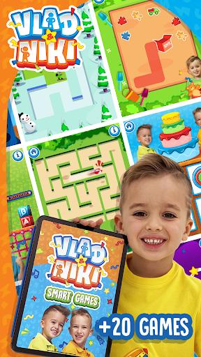 بازی اندروید ولاد و نیکی - بازی های هوشمند - Vlad and Niki - Smart Games
