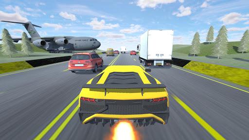 بازی اندروید مسابقه اتومبیل - Racing the Car