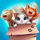 تطابق صدای گربه -انفجار توپ  پازل مطابقت گربه