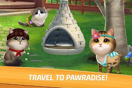 بازی اندروید تطابق صدای گربه -انفجار توپ  پازل مطابقت گربه - Meow Match: Cats Matching 3 Puzzle & Ball Blast