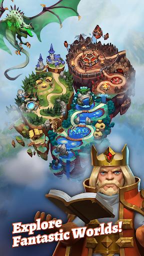 بازی اندروید ضربه اژده ها - پازل نقش آفرینی - Dragon Strike: Puzzle RPG
