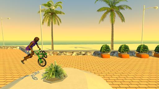 بازی اندروید دوچرخه بدلکاری - Street Lines: BMX