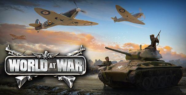 بازی اندروید جهان در جنگ - World at War: WW2 Strategy MMO