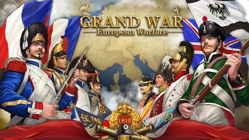 بازی اندروید جنگ بزرگ ناپلئون - بازی های استراتژیک - Grand War: Napoleon, Warpath & Strategy Games