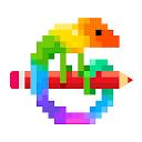 بازی هنر پیکسل - رنگ بر اساس شماره