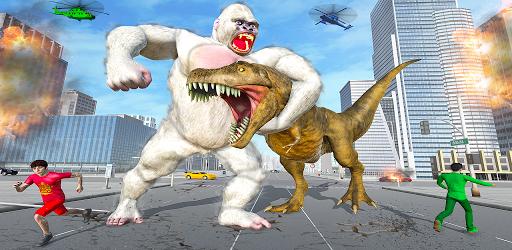 بازی اندروید دورترین نقط شهر دایناسور - در هم شکستن آشوب شهر - Extreme City Dinosaur Smasher 3D City Riots