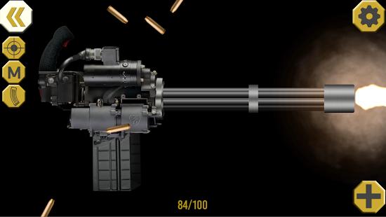 بازی اندروید شلیک تفنگ - Ultimate Weapon Simulator