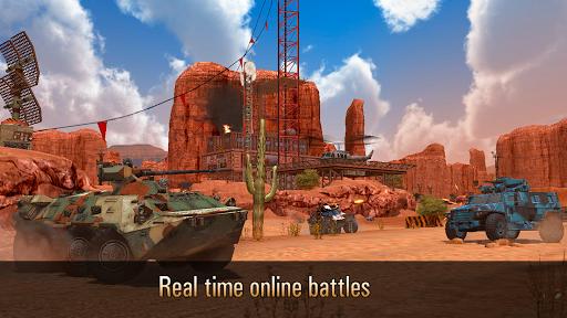 بازی اندروید تانک مدرن نظامی  - Metal Force: War Modern Tanks